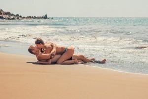 rapport sur la plage
