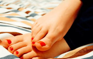 signe d'une fracture de l'orteil